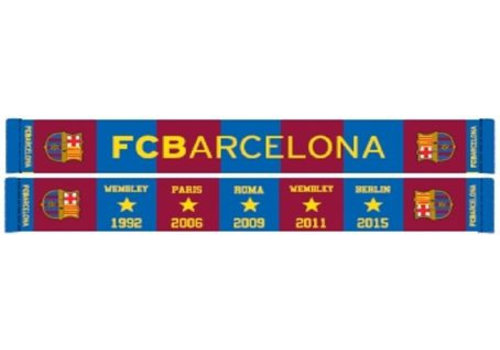 FC Barcelona Sjaal barcelona rood/blauw stars (5004BUD11)