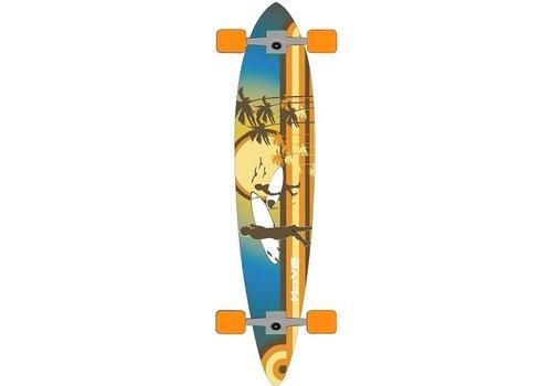 Longboard Move pin: Flat Beach 107 cm/ABEC7 (9916005)