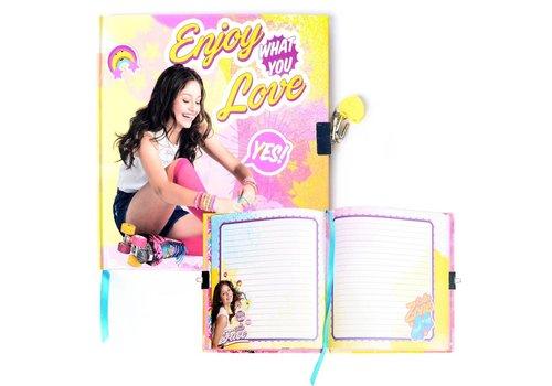 Dagboek met slot Soy Luna (SL16219)