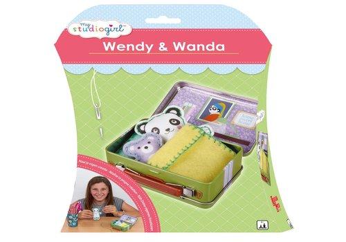 Knutselset My Studiogirl: Wendy & Wanda (82245)