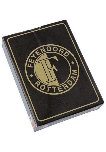 Feyenoord Speelkaarten feyenoord zwart/goud