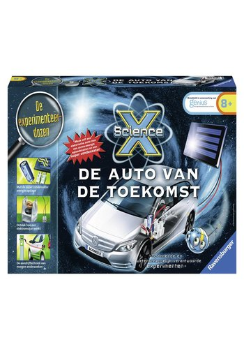 Ravensburger De auto van de toekomst Science X maxi