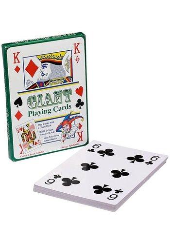 Speelkaarten: extra groot 28x20 cm (79087)