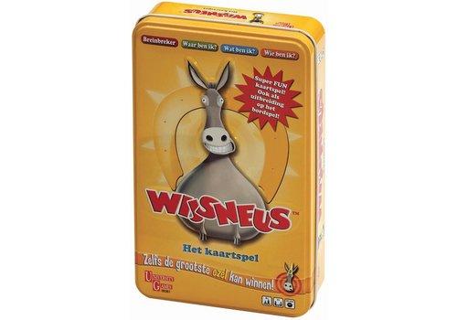 Wijsneus - Het kaartspel in tin box (08361)
