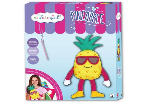 Knutselset My Studiogirl: Pineapple (82257)