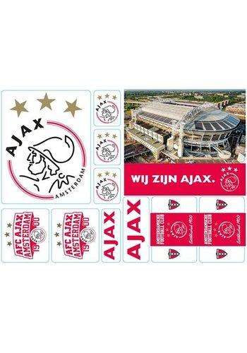 AJAX  Stickervel ajax A5