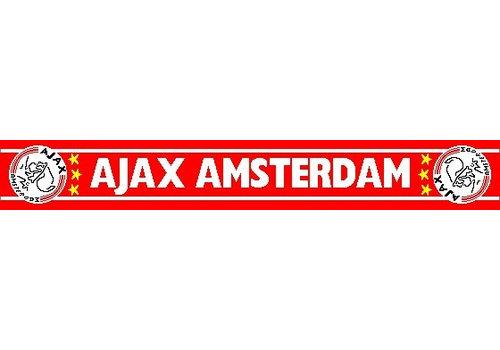 Ajax  Sjaal ajax rood witte letters (SJA16061010)
