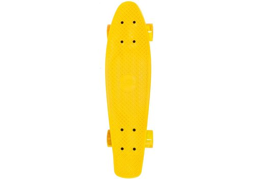 Skateboard Streetsurfing single: yellow 57 cm/ABEC7 (450028)
