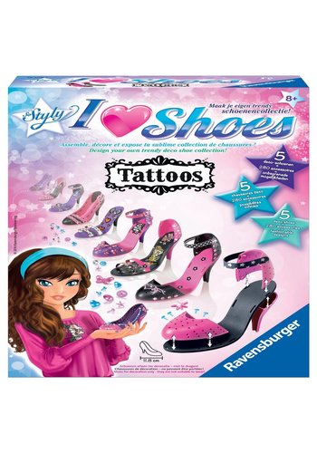 I love shoes So Styly tatoos (185085)