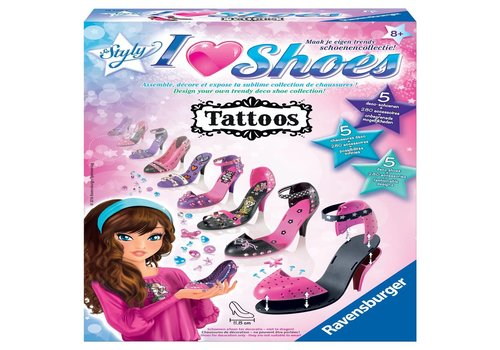 I love shoes So Styly tatoos (185085)