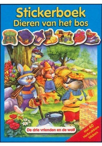 Stickerboek dieren van het bos (6%)