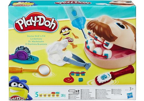 Bij de tandarts Play-Doh: 280 gram (B5520)