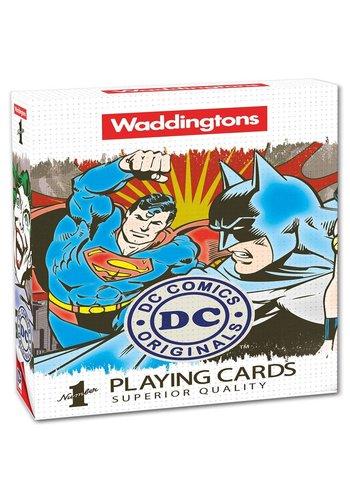 Speelkaarten DC Superheroes Retro (WM022446)
