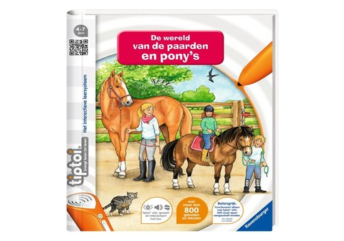 Boek Tiptoi: De wereld van de paarden en ponies (006502)