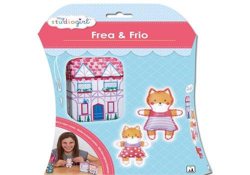 Knutselset My Studiogirl: Frea & Frio (82248)