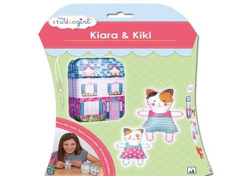 Knutselset My Studiogirl: Kiara & Kiki (82250)