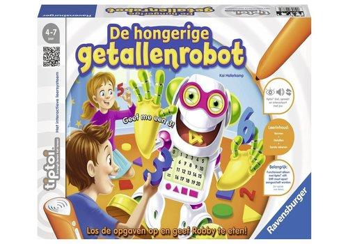 Spel Tiptoi: De hongerige getallenrobot (007684)