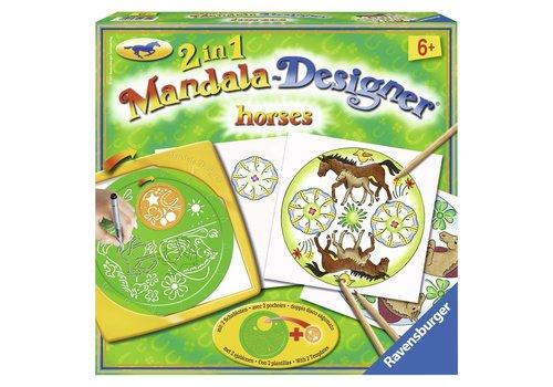 Horses 2 in 1 Mandala Designer (297429)