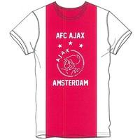 T-shirt ajax wit/rood/wit AFC maat XL