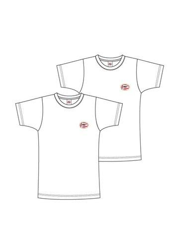 T-shirt psv flash basic 2-pack wit