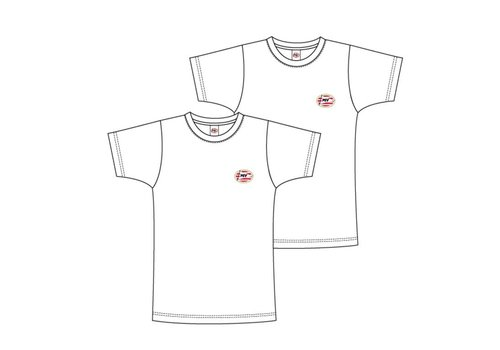 PSV T-shirt psv flash basic 2-pack wit