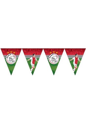 AJAX  Vlaggenlijn ajax: 6 meter
