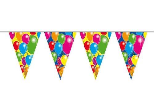 Vlaggenlijn ballonnen: 10 meter (04594)