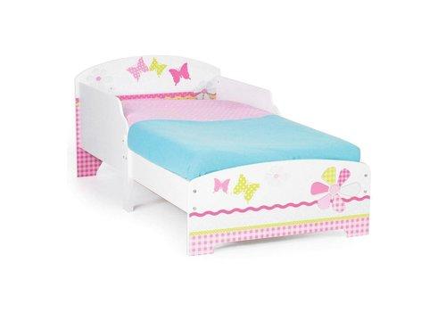 Bed Peuter Patchwork: 145x77x59 cm (450GGL01EM)