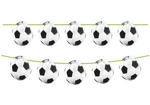Vlaggenlijn Soccer Party: 10 meter (26207)