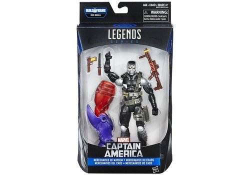 Action figure Captain America 15 cm: Merc (B6397/B6355)