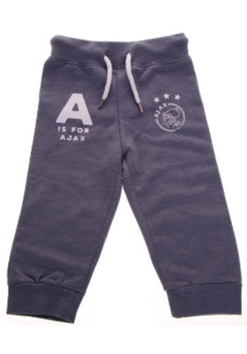 AJAX  Baby pant ajax blauw: A is for Ajax