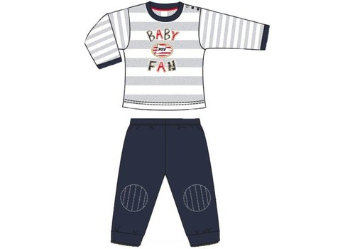 PSV Baby pyjama psv blauw/grijs/wit