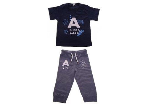 AJAX  Baby joggingpakje ajax blauw: A is for Ajax