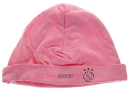 Ajax  Baby muts ajax roze: girls love soccer