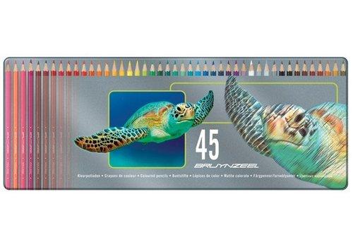 Kleurpotloden Bruynzeel schildpad: 45 stuks (5011M45)