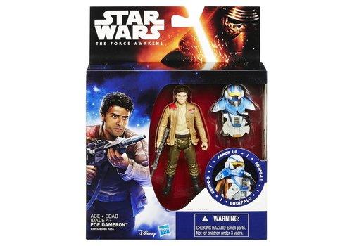 Action figure Star Wars 10 cm: Poe Dameron (B3893/B3886)