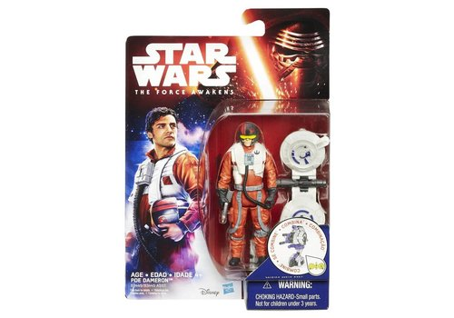 Action figure Star Wars 10 cm: Poe Dameron (B3449/B3445)