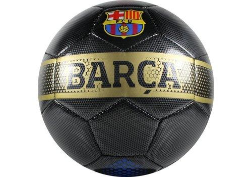 FC Barcelona Bal barcelona leer groot zwart carbon (106457)