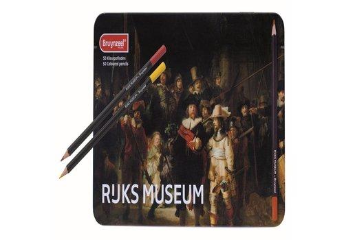Kleurpotloden Bruynzeel Grote Meesters: 50 stuks (5700M50)