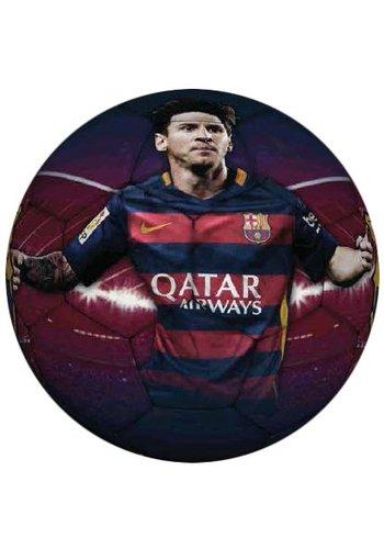 Messi Bal barcelona leer groot rood/blauw Messi (108236)