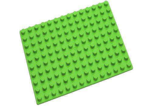 Grondplaat Hubelino: groen 140 noppen (420268)