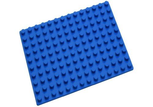 Grondplaat Hubelino: blauw 140 noppen (420275)