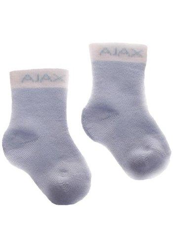 AJAX  Baby sokjes ajax blauw/tekst