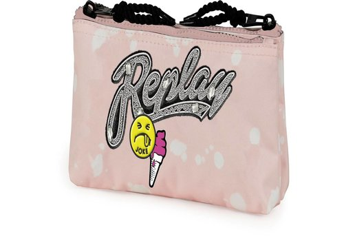 Etui Replay Girls pink: 10x21x6 cm (172RCG618)