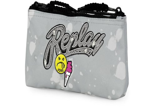 Etui Replay Girls grey: 10x21x6 cm (172RCG618)