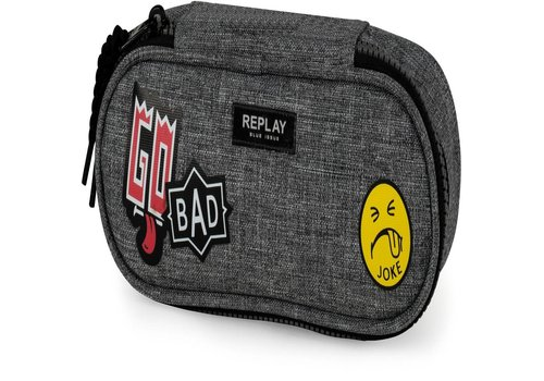 Etui Replay Boys grey: 8x23x8 cm (172RPB616)