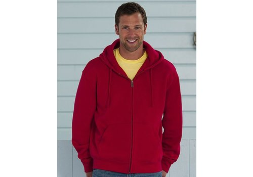 Russell Hooded Zipped sweater