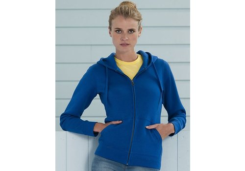 Russell Hooded Zipped sweater lady