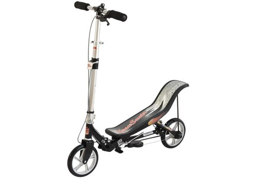 Space scooter (ESS2Ba): mat zwart
