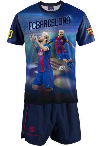 Messi T-shirt/short barcelona Messi (KYM7E)